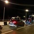 Автомобили встали на Т-образном перекрестке улиц Георгия Колонды и Окружной