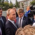Сидорова попросила квартиру во время разговора Путина с жителями Оби