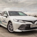 Toyota Camry прибавила в продажах