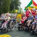 Площадка дляОяшинского детского дома-интерната открыта