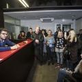 Совладельца «ПТК-30» Антона Коновалова подозревают в мошенничестве. Фото сделано во время  встречи Коновалова с дольщиками в октябре 2017 года