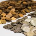 Чаще всего жители города приносили10-копеечные монеты