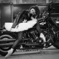 Балерин в образе байкеров снимали в салоне «Harley-Davidson Новосибирск»