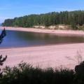 Красноярское море —берег у села Даурское