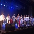 Артисты театра «Балет Москва» на сцене новосибирского концертно-театрального центра «Евразия»