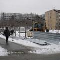 Разрешение на строительство высотки на улице Адриена Лежена застройщик получил через неделю после того, как начал работы