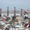 Бугринский мост отметит первый юбилей в новом году — таким он был пять лет назад