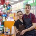 Андрей и Алина Щербаковы хотели открытьмини-кофейню или точку с мягким мороженым