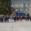 Близкие и друзья Виталия Задорожного собрались около отдела полиции  №10