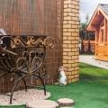 Мангал в выставочном павильоне «Леруа Мерлен»