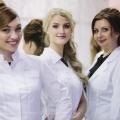 Участницы проекта «Леди Медицина»