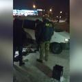 Людей в куртках с надписью «ФСБ» на спинах заметилинеподалёку от спортивного центра «Армада»