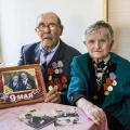 В середине июня новосибирская пара отметила 70 лет совместной жизни