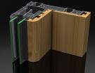 Алюминиево-деревянные окна