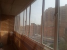 Окна алюминиевые на лоджию,балкон