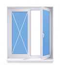 Окно 1300x1320 под ключ в панельный дом