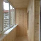 Обшив балконов и лоджий