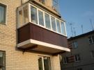 Балконы Veka с остеклением в Екатеринбурге