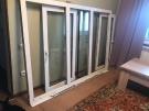 Продам окно пластиковое три створки б/у