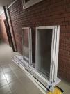 Продам алюминиевые окна