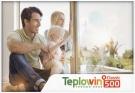 Пластиковое окно teplowin 500 classic 1300*1400