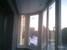 Остекление лоджий пластиковыми окнами. Остекление балконов окнами