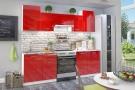 Бланка СТЛ.234.00 Кухонный гарнитур Белый/Красный глянец