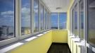 Окна из пвх, остекление балконов