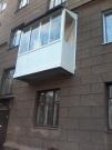 Балкон с крышей П-образный (длина 2300мм)