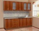 Кухонный гарнитур на 2.4 метра ит. орех N2
