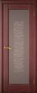 Межкомнатная шпонированная дверь со стеклом. Марсель шт