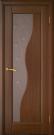 Межкомнатная шпонированная дверь со стеклом. Флоренция шт