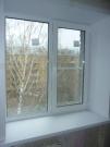 2-х сворчатое окно, размер 1300*1330 под ключ в кирпичом доме   (шт.)