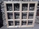 Окно деревянное с стеклопак,стекло с переплётом производство на заказ
