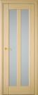 Межкомнатная шпонированная дверь со стеклом. Прага шт