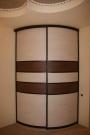 Радиусный шкаф купе 1300х1160х2500