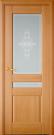 Межкомнатная шпонированная дверь со стеклом. Берлин шт