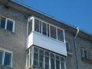 Все виды работ по остеклению и обшивке балконов и лоджий
