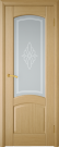 Межкомнатная шпонированная дверь со стеклом. София шт