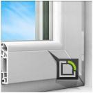Энергоэффективное окно teplowin 600 estetic1300*140, эстетический диза