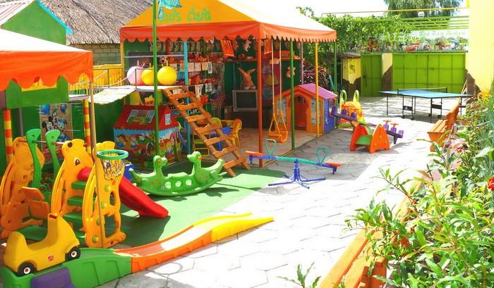 Детский парк развлечений. Фото:  Отдыхающим в Крыму