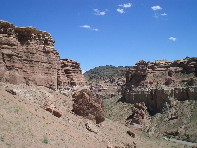 Чарынский каньон — памятник природы. Фото: Википедия.