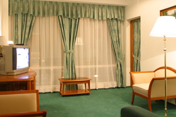 Номер «Люкс». Фото: hotel-prestige.ru