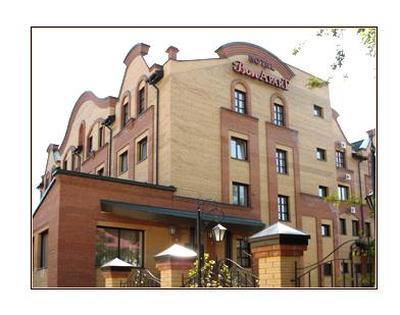 Фасад здания отеля. Фото: www.bon-apart.ru