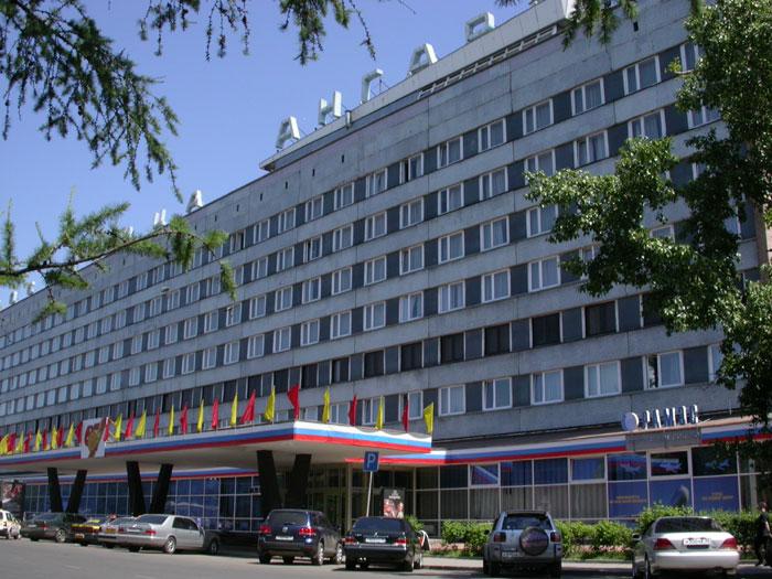 Гостиница «Ангара». Фото: www.hotel-angara.ru