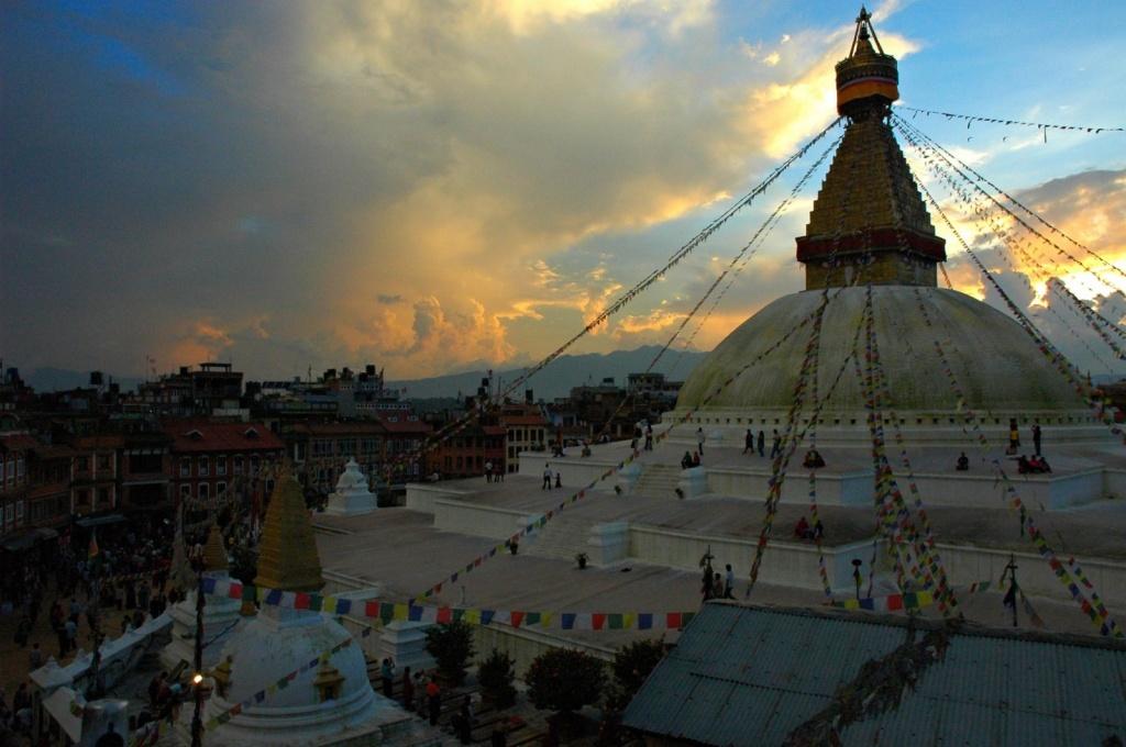 Ступа Boudha на окраине Катманду. Автор: Wonderlane. Фото:  www.flickr.com