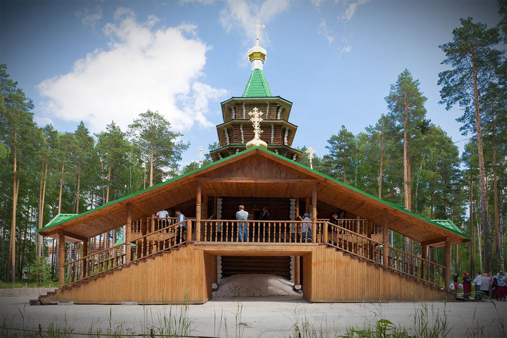Храм во имя святого преподобного Сергия Радонежского. Фото: Сергей Большунов