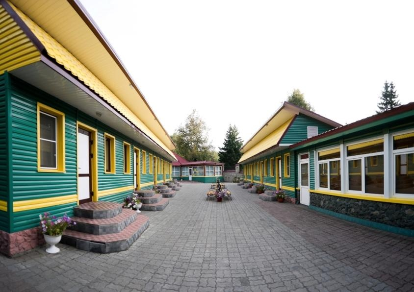 Территории пансионата. Фото: www.nikatur.ru