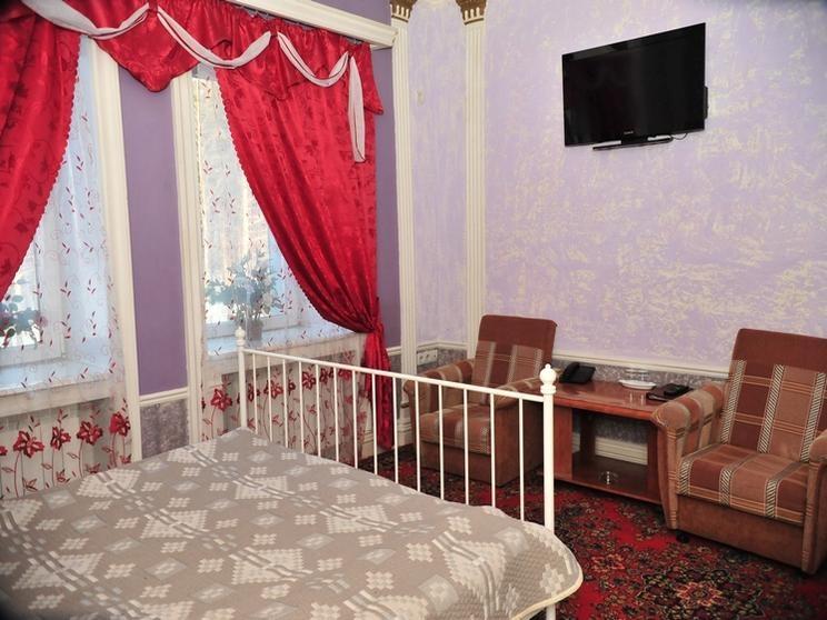Стандартный номер. Фото: www.goldenleo.ru