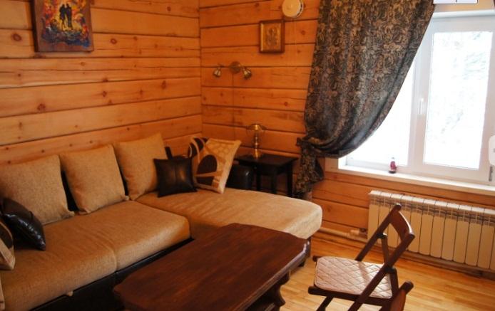 Комната отдыха. Фото: taigahouse.ru